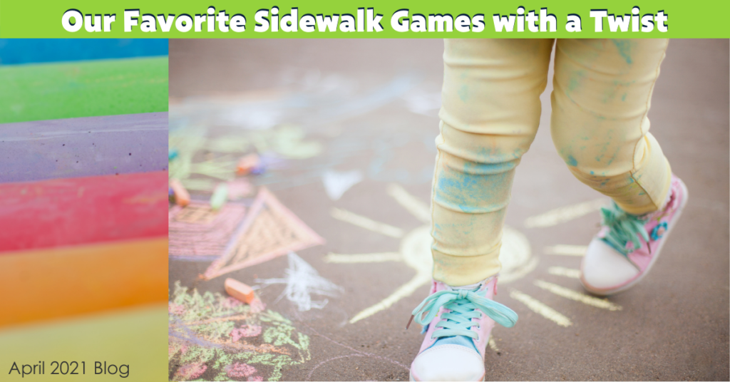 Our Favorite Sidewalk Games With A Twist