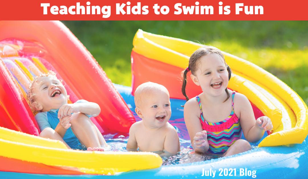 Teaching Kids to Swim is Fun